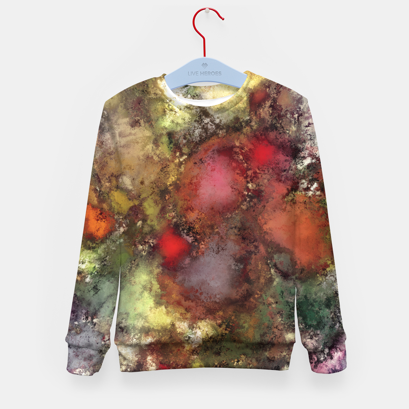 Image of A natural collision of rocks Kid's sweater - Live Heroes