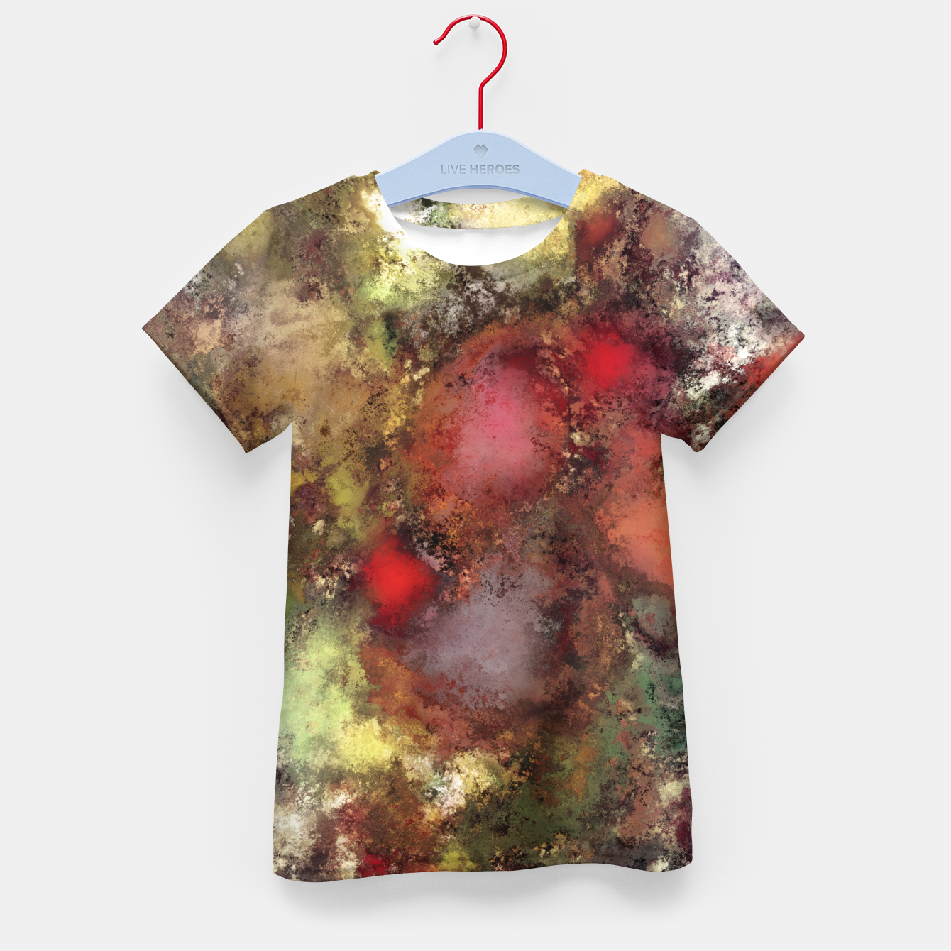Image of A natural collision of rocks Kid's t-shirt - Live Heroes