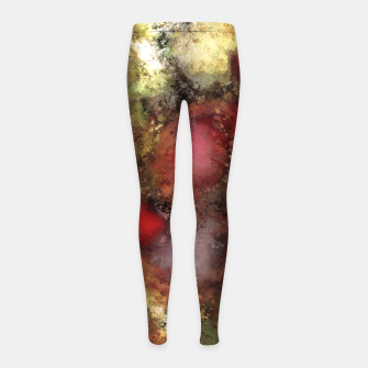 A natural collision of rocks Girl's leggings thumbnail image