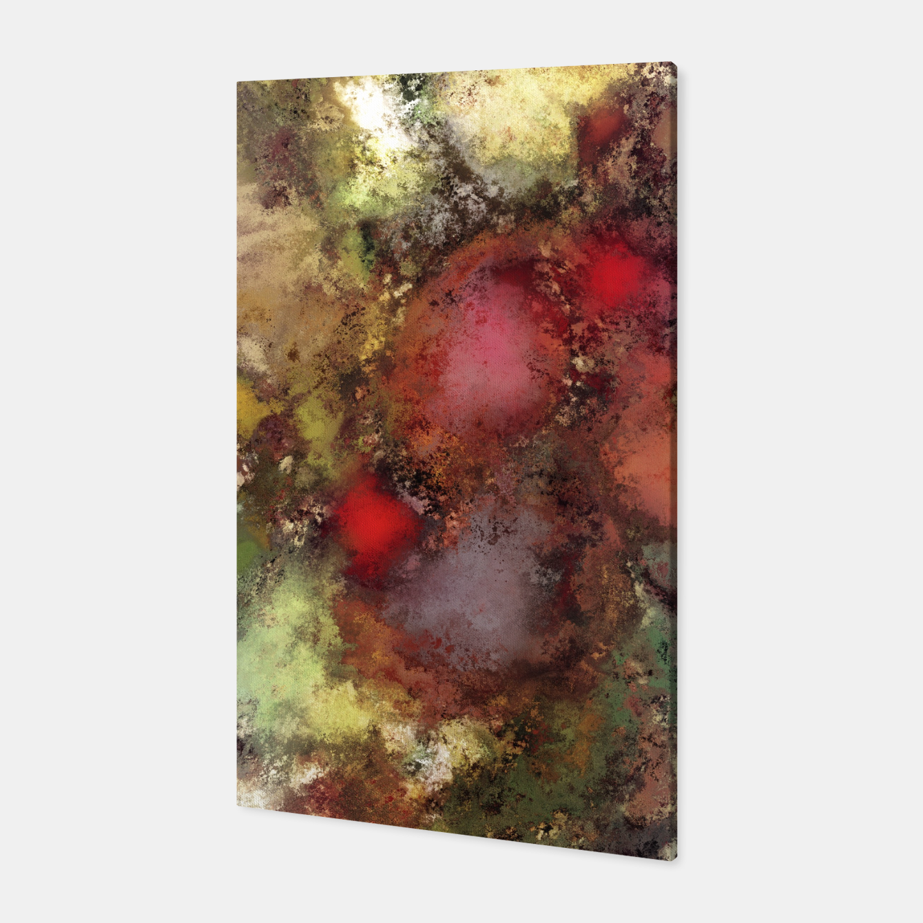 Image of A natural collision of rocks Canvas - Live Heroes