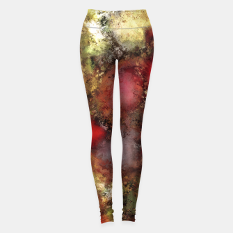 A natural collision of rocks Leggings thumbnail image