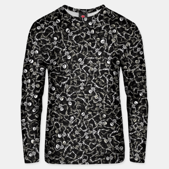Thumbnail image of Skeletons Unisex sweater, Live Heroes