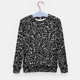 Thumbnail image of Skeletons Kid's sweater, Live Heroes