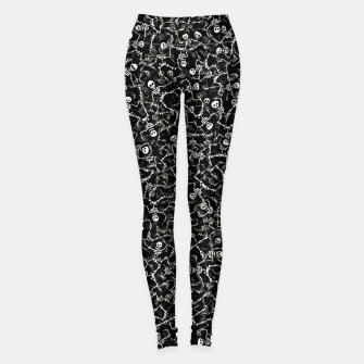Thumbnail image of Skeletons Leggings, Live Heroes