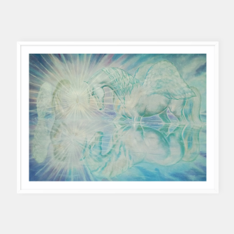 Thumbnail image of REFLECTION TWIN FLAME - DH Plakaty w ramie , Live Heroes