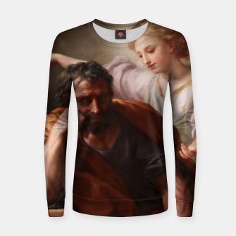 Thumbnail image of The Dream of St. Joseph by Anton Raphael Mengs Women sweater, Live Heroes