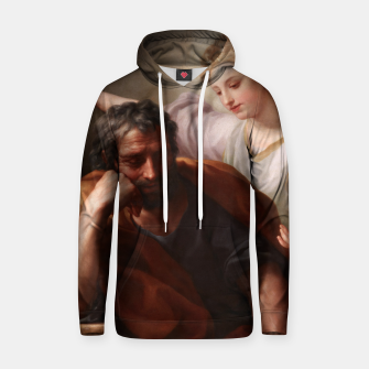 Thumbnail image of The Dream of St. Joseph by Anton Raphael Mengs Hoodie, Live Heroes