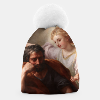 Miniaturka The Dream of St. Joseph by Anton Raphael Mengs Beanie, Live Heroes