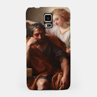 Thumbnail image of The Dream of St. Joseph by Anton Raphael Mengs Samsung Case, Live Heroes