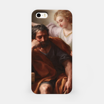 Thumbnail image of The Dream of St. Joseph by Anton Raphael Mengs iPhone Case, Live Heroes