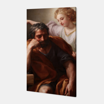 Thumbnail image of The Dream of St. Joseph by Anton Raphael Mengs Canvas, Live Heroes
