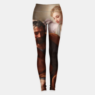 Thumbnail image of The Dream of St. Joseph by Anton Raphael Mengs Leggings, Live Heroes