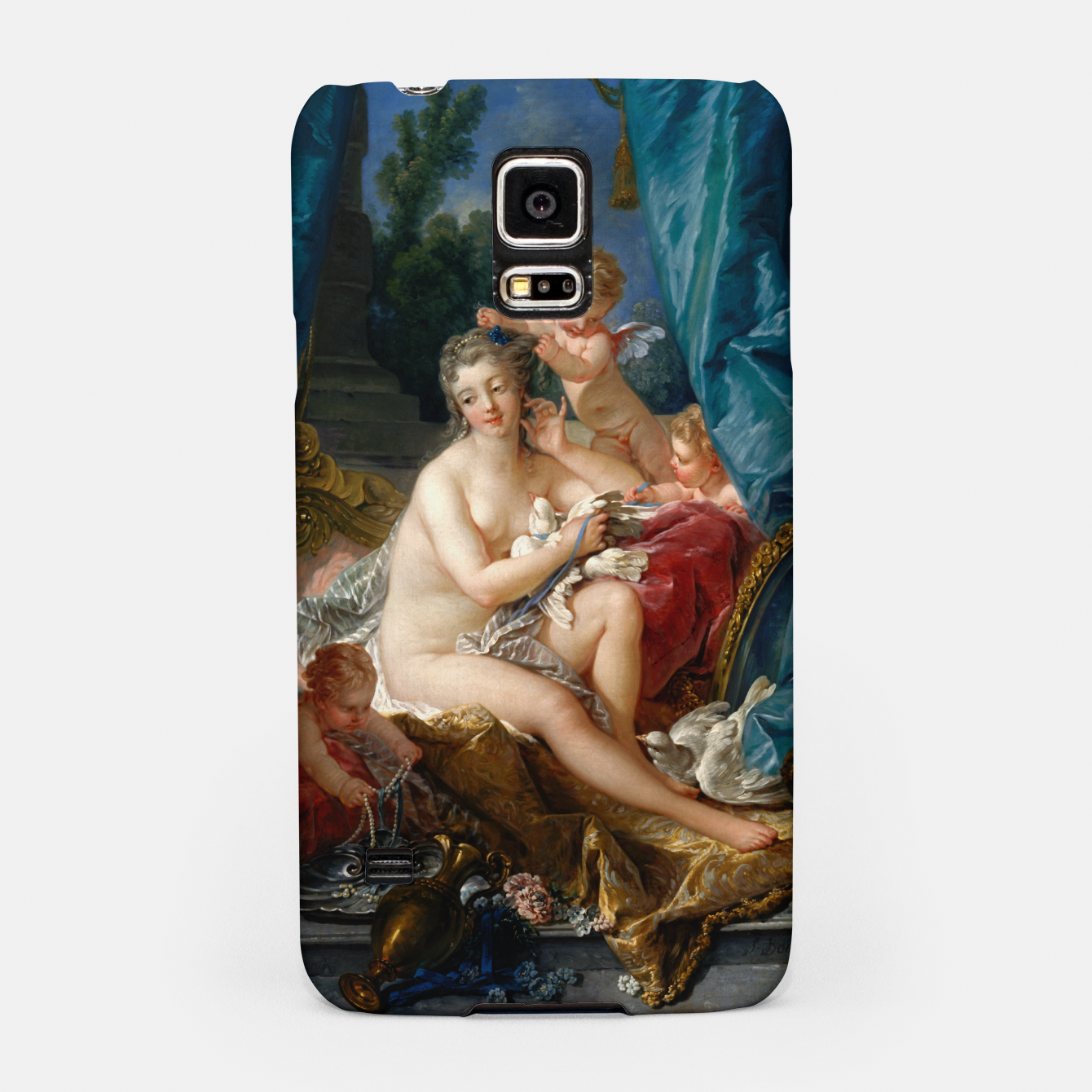 Image of The Toilet of Venus by François Boucher Samsung Case - Live Heroes