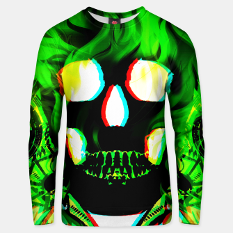 Thumbnail image of Green Ghost Sweater, Live Heroes
