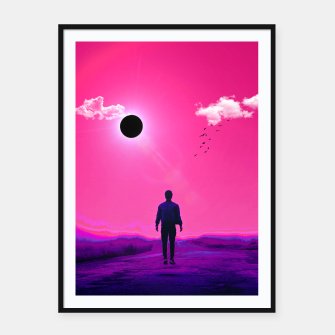 Thumbnail image of Black Hole Sun Framed poster, Live Heroes