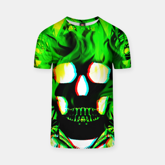 Thumbnail image of Green Ghost Tshirt, Live Heroes