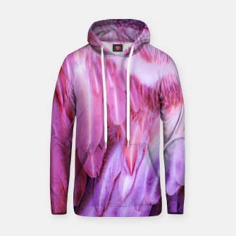 Thumbnail image of Feathers - shades of purple Kapuzenpullover, Live Heroes