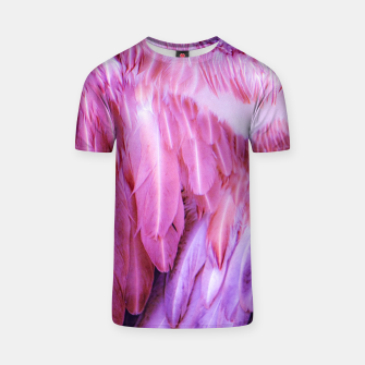 Miniatur Feathers - shades of purple T-Shirt, Live Heroes