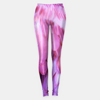 Miniatur Feathers - shades of purple Leggings, Live Heroes