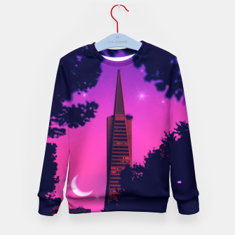 Thumbnail image of San Francisco Kid's sweater, Live Heroes