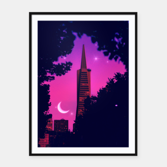 Thumbnail image of San Francisco Framed poster, Live Heroes