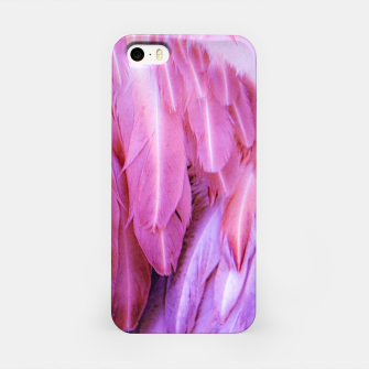 Miniature de image de Feathers - shades of purple iPhone-Hülle, Live Heroes