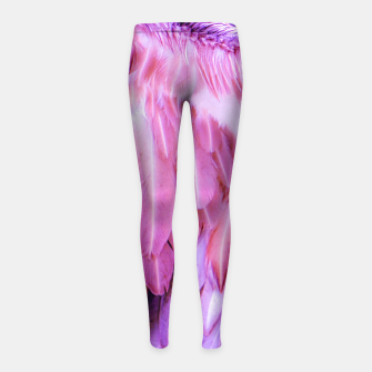 Miniatur Feathers - shades of purple Kinder-Leggins, Live Heroes