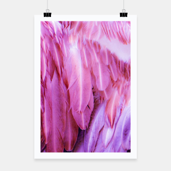 Miniature de image de Feathers - shades of purple Plakat, Live Heroes