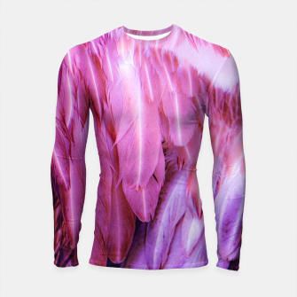 Miniatur Feathers - shades of purple Longsleeve rashguard, Live Heroes