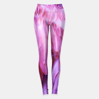Miniature de image de Feathers - shades of purple Leggings, Live Heroes
