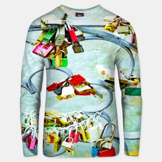 Thumbnail image of Love locks Unisex sweatshirt, Live Heroes