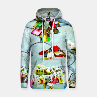 Thumbnail image of Love locks Kapuzenpullover, Live Heroes