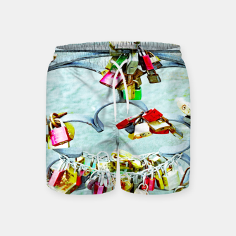 Thumbnail image of Love locks Badeshorts, Live Heroes