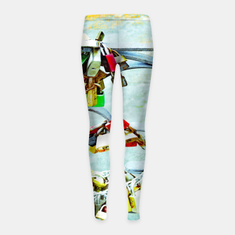 Miniature de image de Love locks Kinder-Leggins, Live Heroes