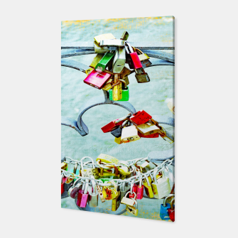 Thumbnail image of Love locks Canvas, Live Heroes