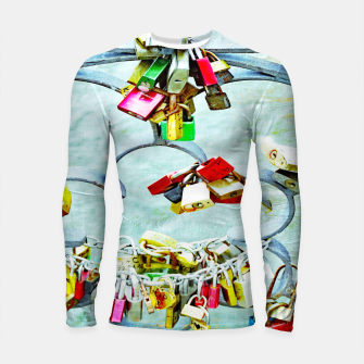 Thumbnail image of Love locks Longsleeve rashguard, Live Heroes