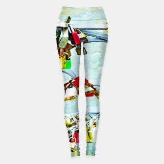 Thumbnail image of Love locks Leggings, Live Heroes