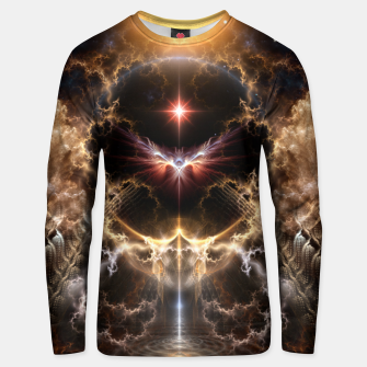 Thumbnail image of Fire Of Heaven Fractal Art Composition Unisex sweater, Live Heroes