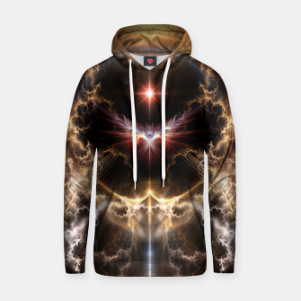 Fire Of Heaven Fractal Art Composition Hoodie thumbnail image