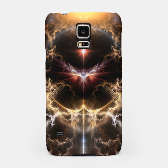 Thumbnail image of Fire Of Heaven Fractal Art Composition Samsung Case, Live Heroes