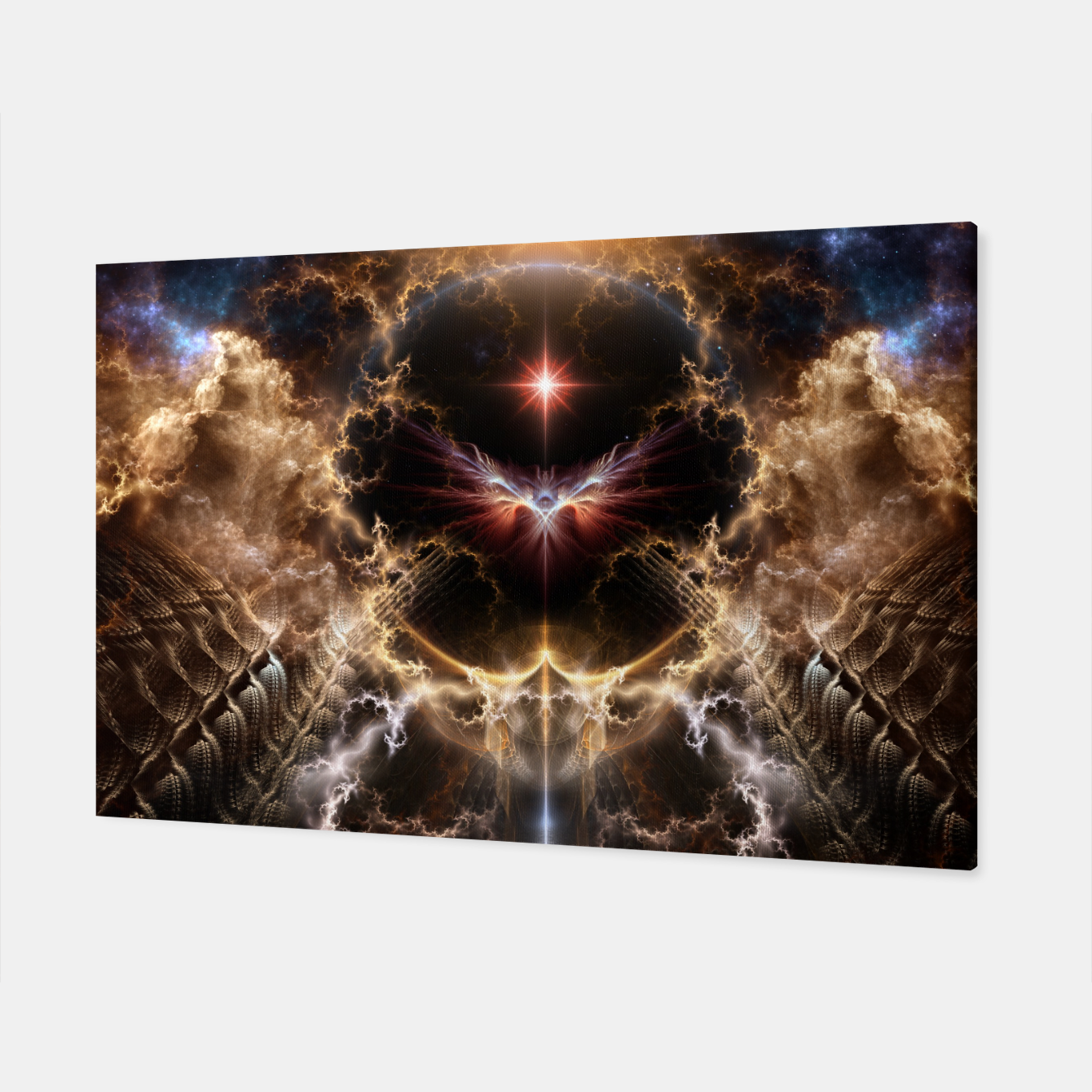 Image of Fire Of Heaven Fractal Art Composition Canvas - Live Heroes