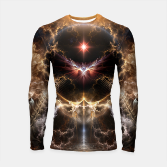 Fire Of Heaven Fractal Art Composition Longsleeve rashguard  thumbnail image
