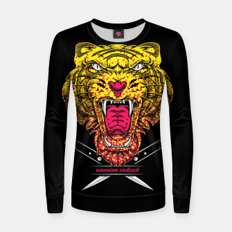 Thumbnail image of warrior Instinct Women sweater, Live Heroes