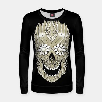 Thumbnail image of Skull Plants Women sweater, Live Heroes