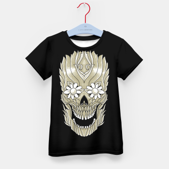 Thumbnail image of Skull Plants Kid's t-shirt, Live Heroes