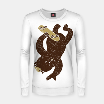 Thumbnail image of Skater Women sweater, Live Heroes