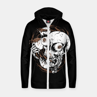 Thumbnail image of Coffee Addict Zip up hoodie, Live Heroes