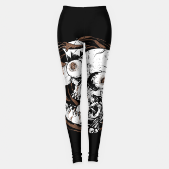 Thumbnail image of Coffee Addict Leggings, Live Heroes