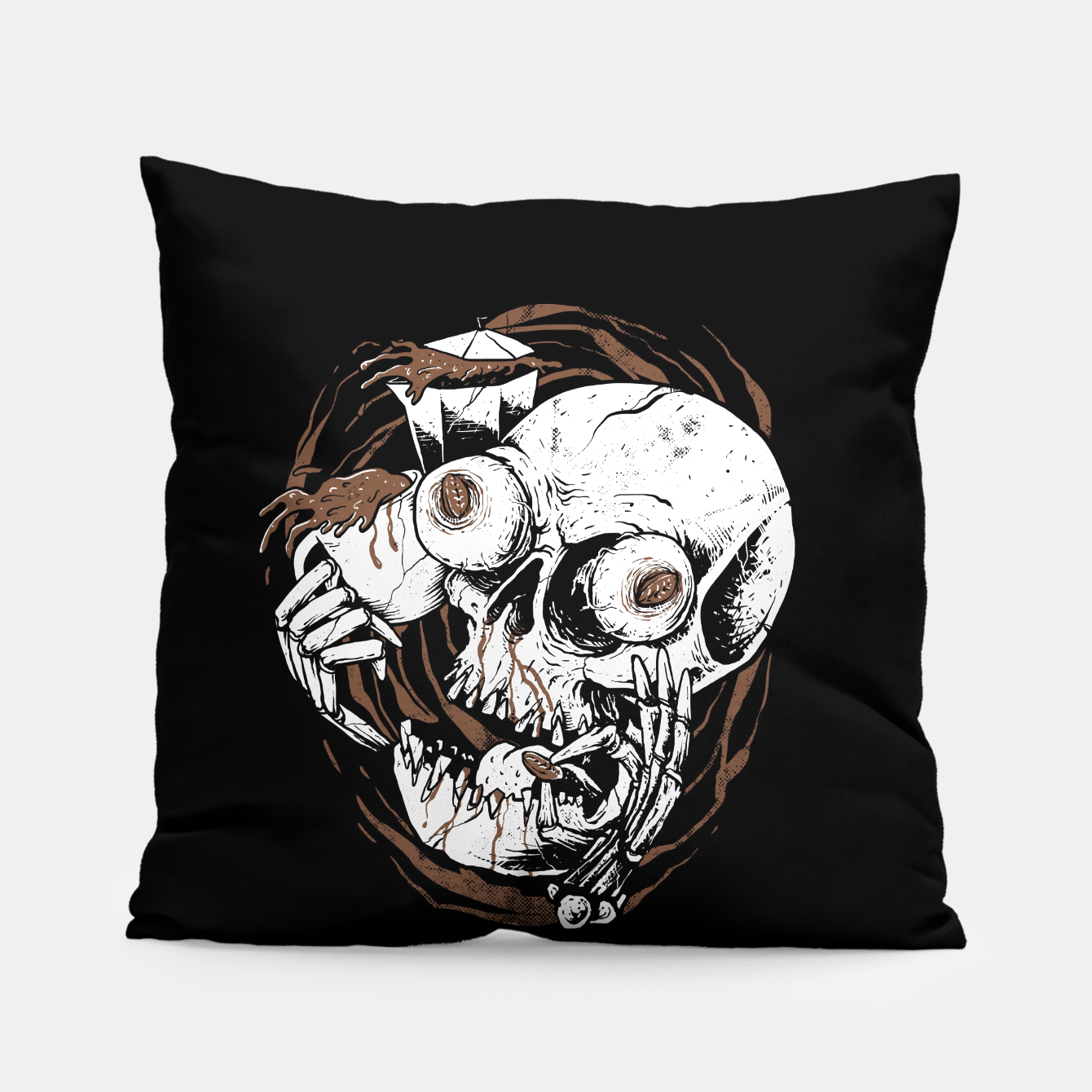 Image of Coffee Addict Pillow - Live Heroes