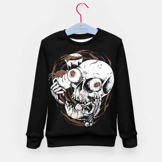 Thumbnail image of Coffee Addict Kid's sweater, Live Heroes
